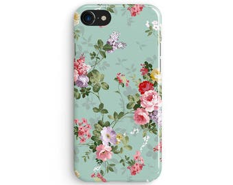 Vintage floral - iPhone 7 case, Samsung Galaxy S7 case, iPhone 6, iPhone 7 plus, iPhone SE, iPhone 5S, 1C002A