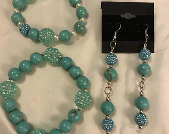earring bracelet set