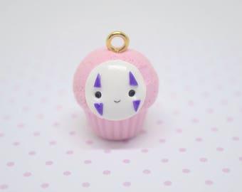 Kawaii Pink No Face Cupcake