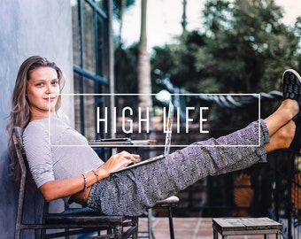 High Life Indie Muse Collection 3 Presets  4 Tool Presets 9 LR Brushes Lightroom Presets for Professional Results by LouMarksPhoto