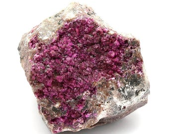 Pink Cobalt Calcite Crystals on Matrix – 349g