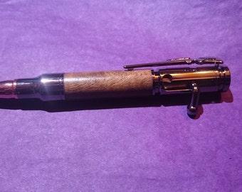Bolt action mini pen