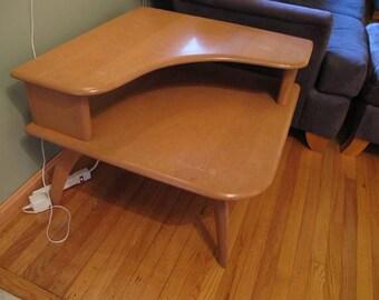 Heywood Wakefield Corner Table