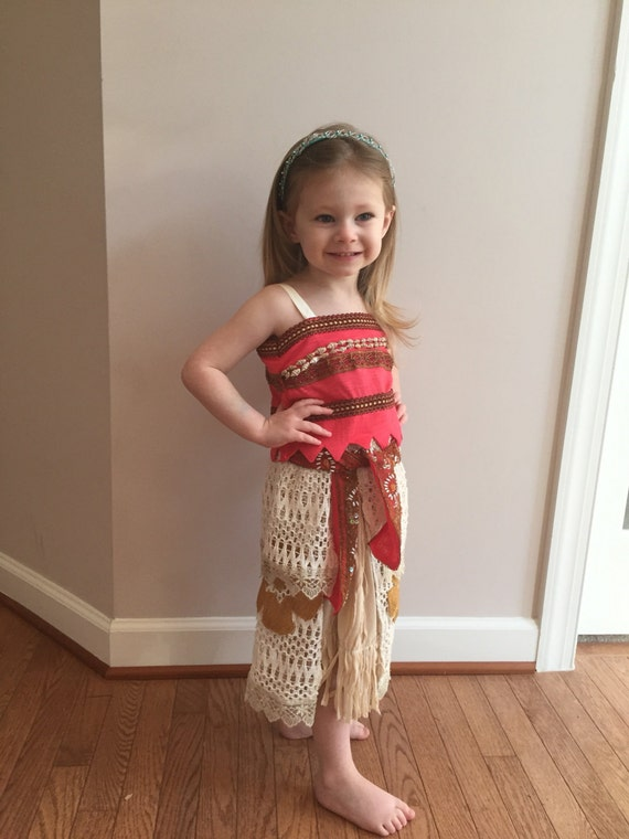 Home Sewn Disney Princess Moana Outfit