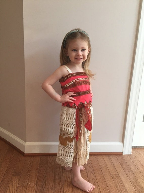 Home Sewn Disney Princess Moana Outfit