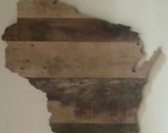 Wisconsin State Cut Out