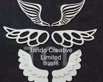 Tando Wings Set - Greyboard