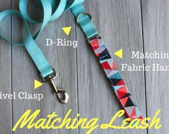 Add A Matching Nylon Webbing Leash To Your Order!