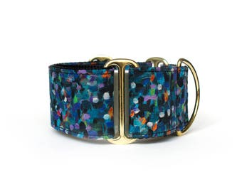 Martingale or Buckle Dog Collar – Monet