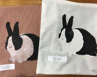Dutch Moody Rabbit Zip Bag