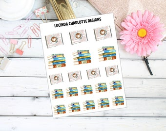 Reading/Books - Planner Stickers