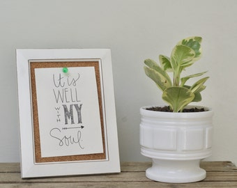 Christian Print- It is Well with My Soul Print