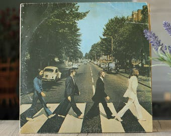The Beatles - Abbey Road (Rare LP, Vinyl records, Lennon, McCartney album)