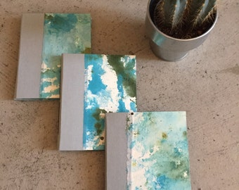 Blue and Grey Pocket Notebook