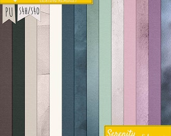Serenity Solid Papers