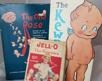The One Rose - Kewpie Book by Rowena Godding Ruggles (SIGNED)