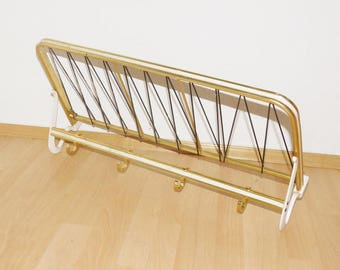 Aluminum coat rack with shelf 50 he years