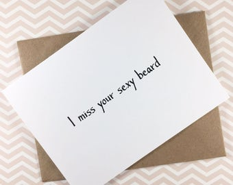 I miss you card/Love card to boyfriend/Love card to Husband