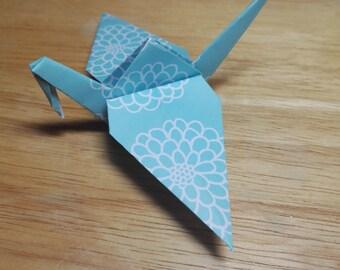 20 Origami Crane Wedding Favors / Baby Boy B2/9