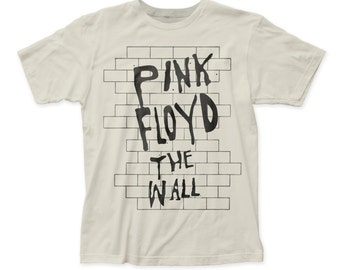 Pink Floyd the wall fitted jersey tee (PF32) Vintage White