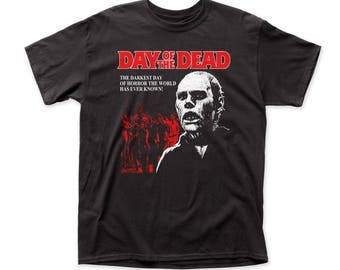 Day Of The Dead Darkest Day Of Horror 18/1 Traditional Men's Tee (DOD01) Black