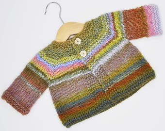 3 months old baby hand knitted jacket