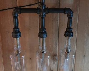 Steampunk Bottle Light
