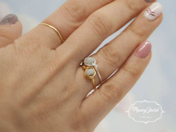 Aquamarine, gold ring, aquamarine ring, handmade ring, nichel free, made in Italy, birthday gift, bridesmaid gift, wedding gift, for her