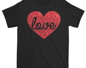 Valentine Gift Boyfriend Gift Gift For Him Valentines Day Gift Best Valentine Gift Valentine Shirt Boys  Wife Gift I Love You Shirt Love