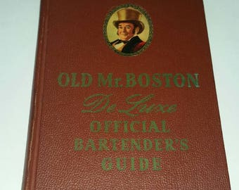 Old Mr Boston De Luxe Official Bartenders Guide 1959
