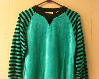 EIGHTIES STRIPED SWEATER