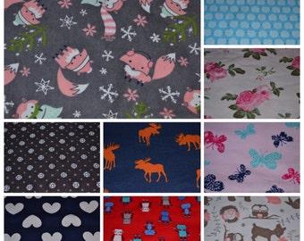 Flannel washcloth, large wash cloth, washcloth for child