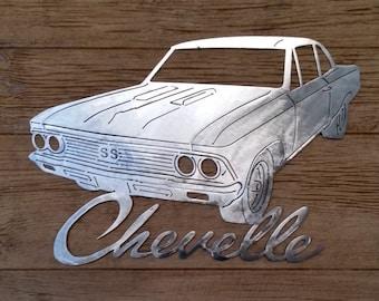 "CNC Metal 24"" 1966 Chevrolet Chevelle"