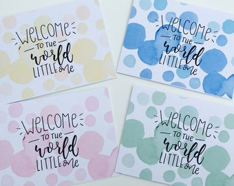 Welcome to the World! Greetings Card
