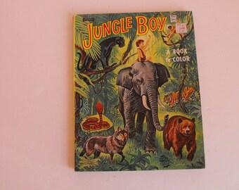 1967 Jungle Boy Coloring Book by Artcraft    (886)