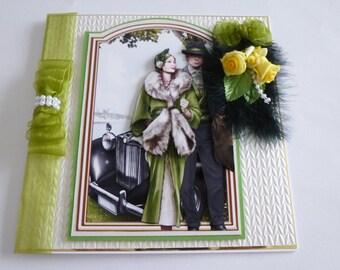 Art Deco Couple Anniversary
