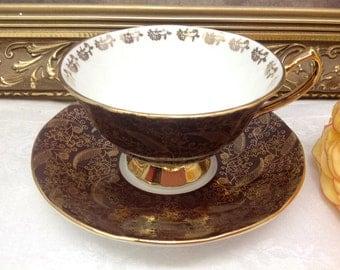 Elizabethan teacup and saucer.