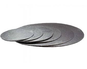 """Support insole to Presentation money end O 25 cm, 9 """"round cakes"""