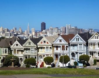 San Francisco skyline canvas, Golden Gate  Canvas, San Francisco wall canvas, 3 panel or single panel San Francisco Golden Gate wall art