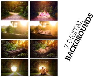58 Products: backgrounds, backdrops, photoshop actions and bokeh
