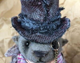 Bob / Teddy Bear / Collection toy / Handmade / Gift / Collector's item / OOAK / Old school / Plush Toy / Toy bear / Stuffed Animal /Toy bear