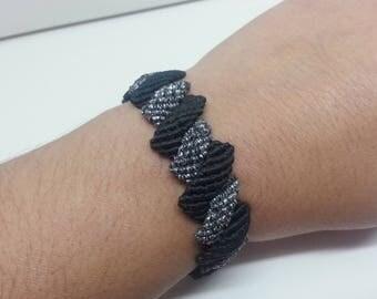 Double zig zag bracelet