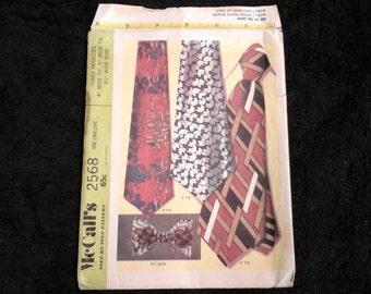Vintage neck tie pattern