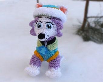 Kids birthday gifts crochet toys crochet dolls by KnittedJoyShop