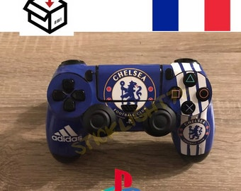 Skin stickers chelsea ps4 controller led light bar controller