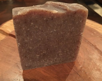 Down to Earth Natural Soap with black walnut powder