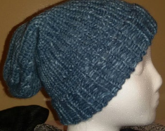 Slate Blue youth or small adult slouchy