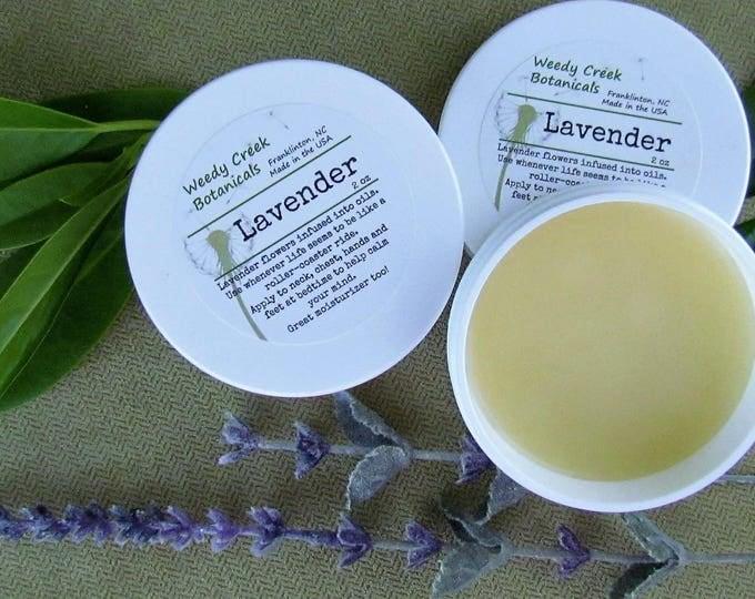Lavender Balm, Lavender moisturizer, aromatherapy