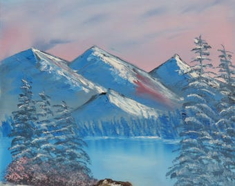 Winter's Sunset - b