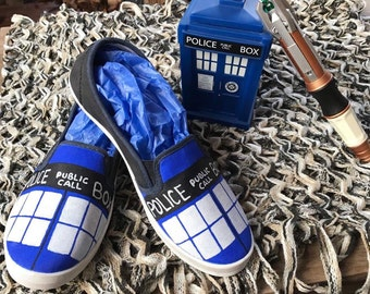 Doctor Who T.A.R.D.I.S. Shoes